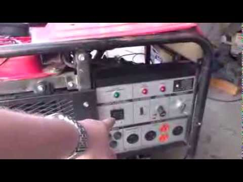 Troubleshooting a Generator with A No Power issue - YouTube
