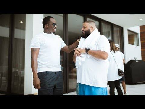 P. Diddy & DJ Khaled Getting The #ProtectTheBag Workout In