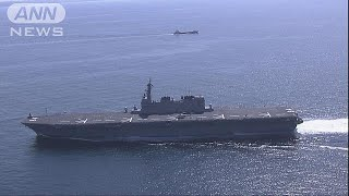 F35B搭載計画の護衛艦「かが」 トランプ氏視察へ(19/05/09)