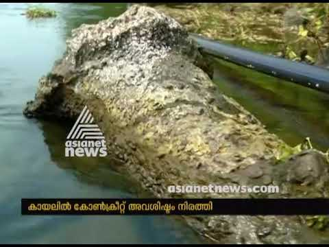 Kapico resort dumping Construction Waste to Vembanad lake | Asianet News Exclusive