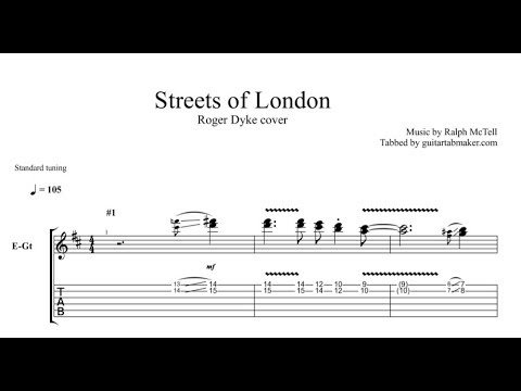 Streets Of London TAB - guitar instrumental tab - PDF - Guitar Pro ...