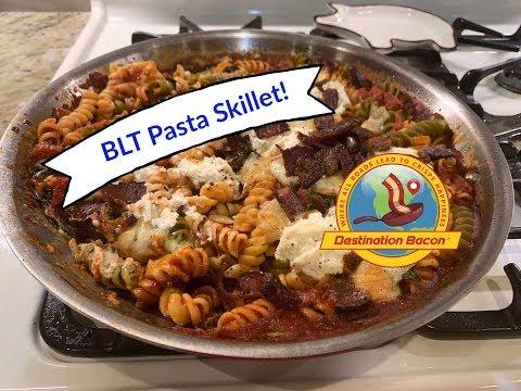 BLT Pasta Skillet