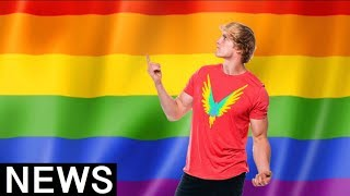 Logan Paul Triggers LGBTQ Community Over Joke About Pride Month