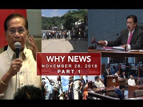 UNTV: Why News (November 28, 2018) PART 1