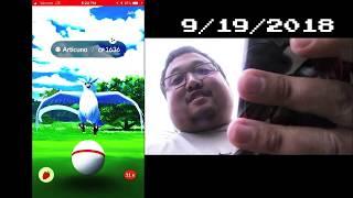 Pokémon GO Legend Raiders: Raid 42 - Legendary Bird Shiny Hunt Finale