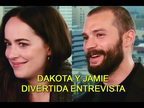 SUBTITULADO: Divertida entrevista de Dakota y Jamie para The Insider