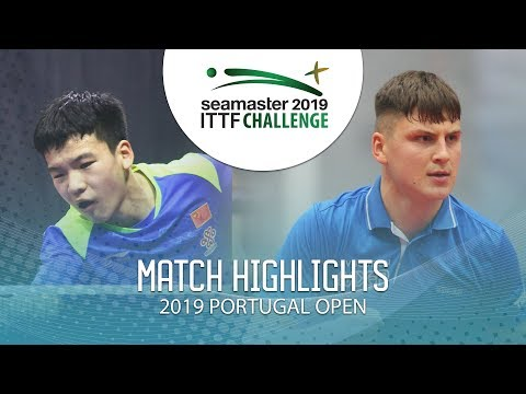 Xiang Peng vs Andrei Putuntica | 2019 ITTF Challenge Plus Portugal Open Highlights ( U21 R32 )