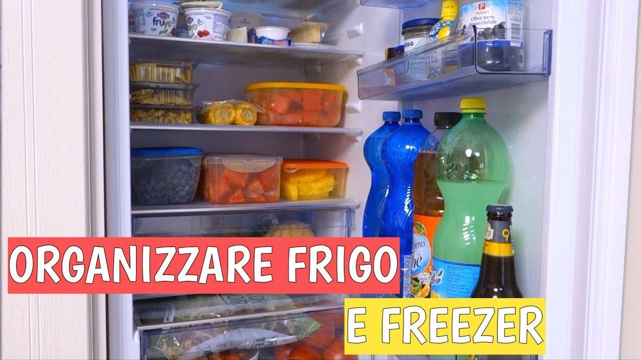 Contenitori Per Organizzare Frigo come organizzo frigorifero e freezer