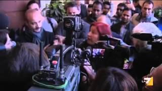 CIVITANOVA: DOPO I SUICIDI PER LA CRISI TENSIONE E GRIDA DI RABBIA AI FUNERALI