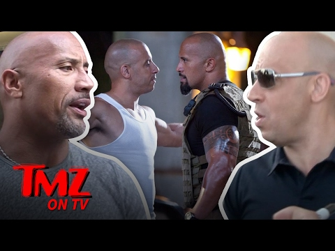 The Rock & Vin Diesel – Dueling Videos! (TMZ TV)
