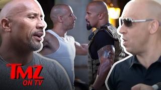 The Rock & Vin Diesel – Dueling Videos! | TMZ TV