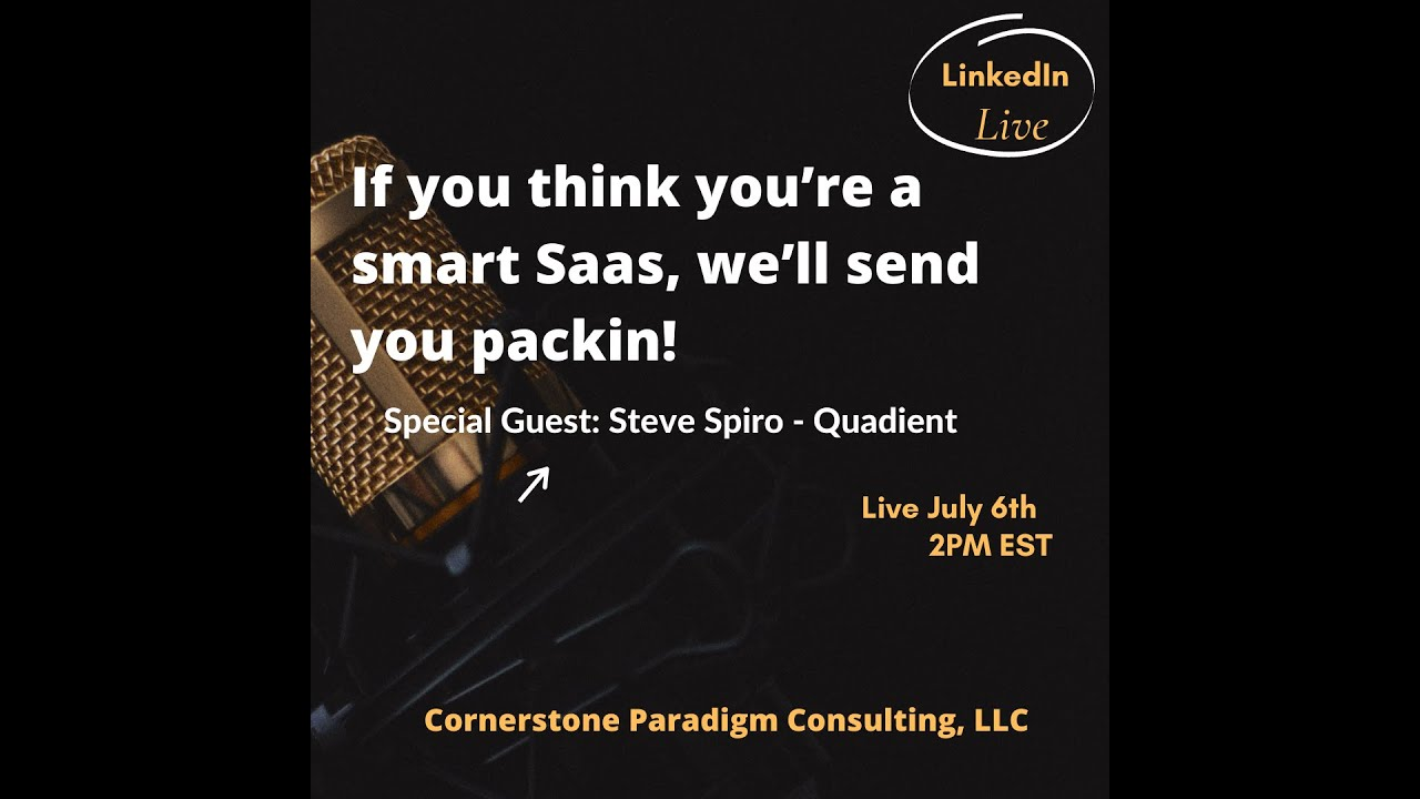 If you think you're a smart Saas, we'll send you packin!