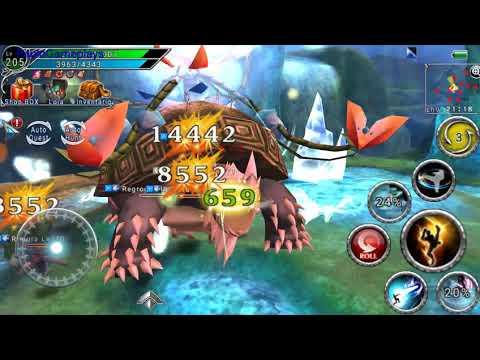 AVABEL ONLINE MMORPG: Awakened Skills Class Striker -Crecile-