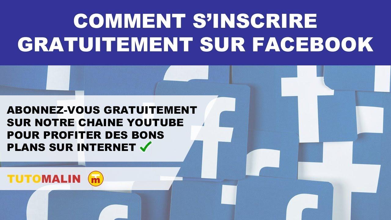 Comment Sinscrire Gratuitement Sur Facebook Youtube