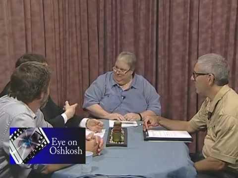 Eye on Oshkosh-State Treasurers race Ron Hardy and Andrew Zuelke, taped 7 24 14