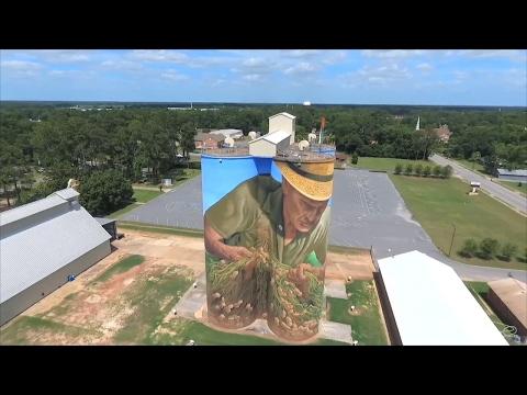 """""""Peanut Farmer"""" Mural Artist Explains How Project Was Created"""