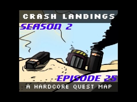 Minecraft [HQM] Crash Landing S2E25 - Gone Missing