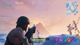 Fortnite Turbo shooting and sliding glitch axe