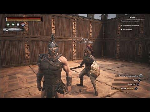 Conan Exiles PS4 - Info del Server + Lucha Contra Esclavos  #Gladiadores 1