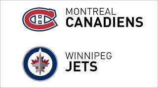 Recap: Canadiens 7, Jets 4 • Jan 11, 2017