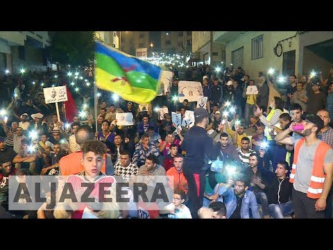 Protesters demand release of jailed activist in Morocco