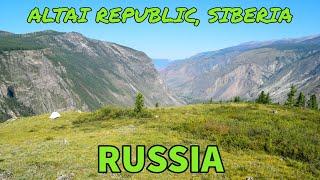 Hitchhiking Through The Altai Mountains Pt. 2: 198km To Aktash