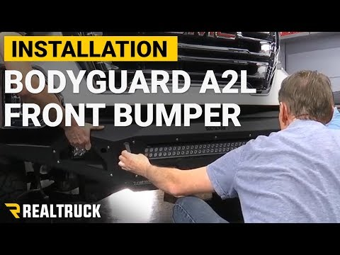 How to Install Bodyguard A2L Base Front Bumper on a 2019 GMC Sierra 1500