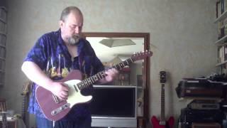 Sunny Purple Sunday. RM Guitars Tele - Fender Blues Junior