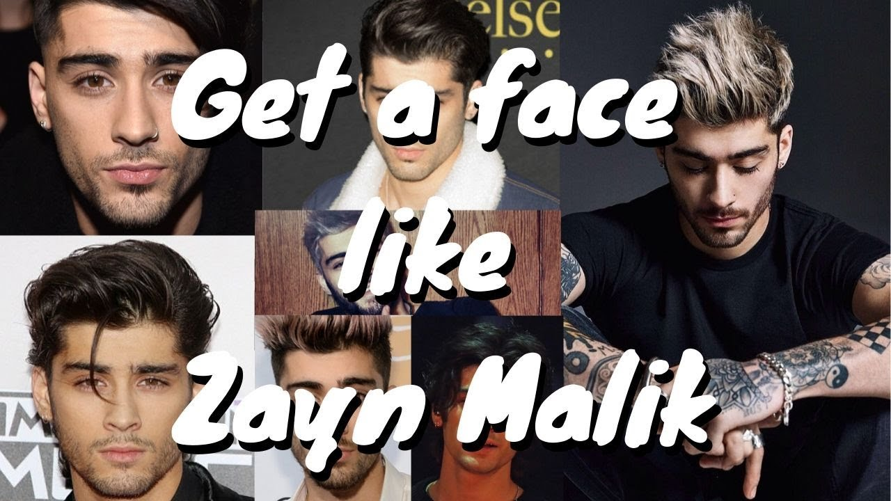 Get a face like: Zayn Malik (Desired Face Affirmations) 🌧️ ...