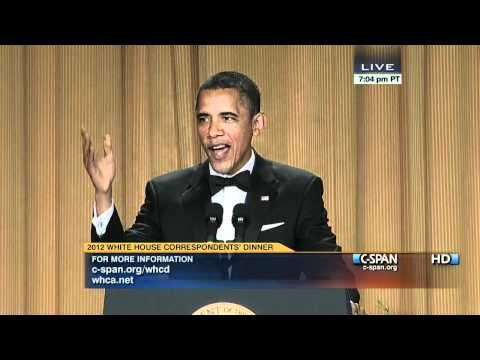 Thumbnail: C-SPAN: President Obama at the 2012 White House Correspondents' Dinner