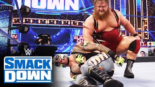 Rey Mysterio & Dominik Mysterio vs. Otis & Chad Gable: SmackDown, Feb. 19, 2021