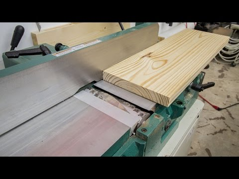 Jointing Stock Wider Than Your Jointer - 218