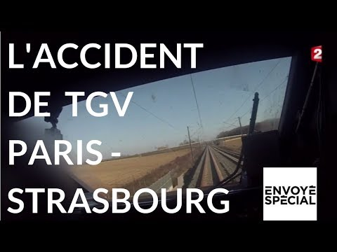 Envoyé spécial. TGV Paris Strasbourg à trop grande vitesse - 9 novembre (France 2)