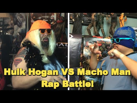 Hulk Hogan Vs Macho Man Rap Battle