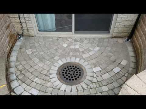 Oakland County French Drain - Walkout Basement / Pit Patio Drain