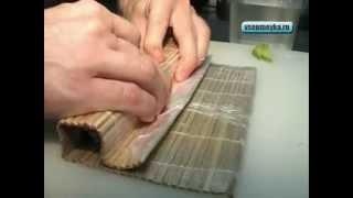 Как сделать суши роллы