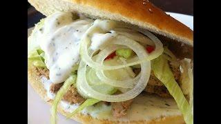Hähnchen Döner Selber Machen -  Selbstgemachter Chicken Kebab (Rezept)