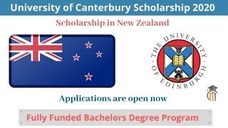 University of Canterbury Scholarship 2020 in New Zealand