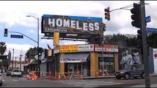 Homeless in Los Angeles Hollywood California (V1270) Living In A Van Dweller