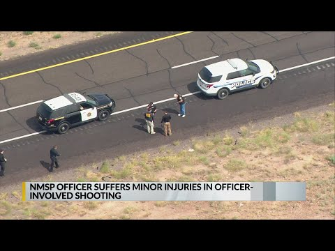 NM State Police Investigating Officer-involved Shooting West Of Albuquerque