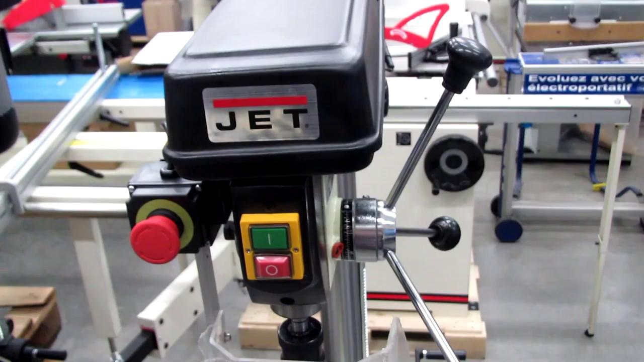 Обзор сверлильных станков JET JDP-17 и JET JDP-15B - YouTube