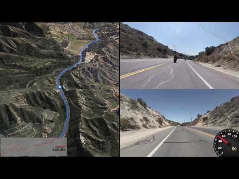 Another Motorcycle Ride Through Santiago Canyon and Trabuco Canyon