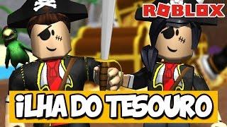 LOOKING FOR the PIRATE TREASURE-Roblox (Escape Treasure Island Obby)