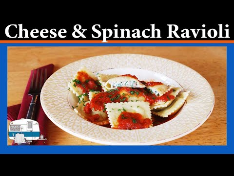 How to Make Cheese & Spinach Ravioli
