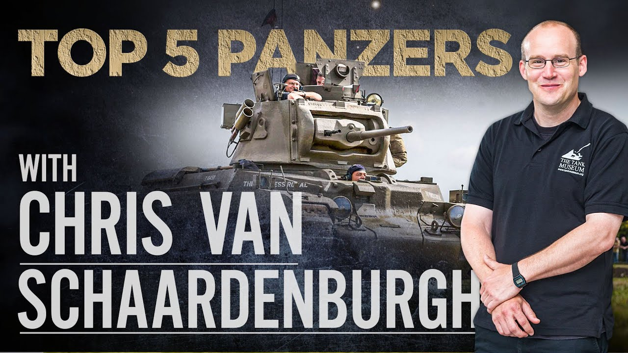 Chris van Schaardenburgh | Top 5 Tanks | The Tank Museum