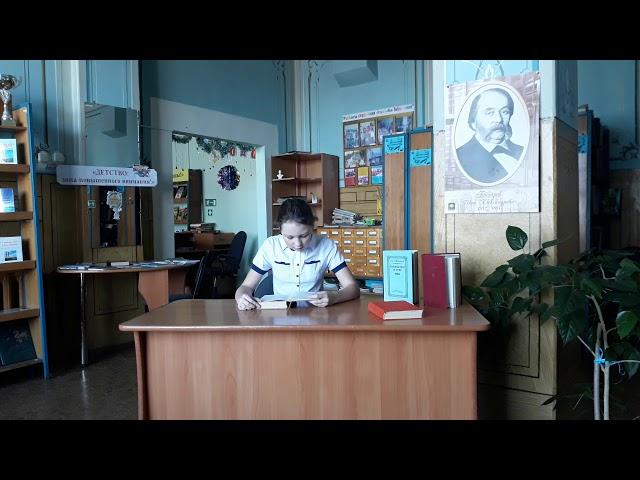 Изображение предпросмотра прочтения – АлинаНикульшина читает произведение «Обломов» И.А.Гончарова