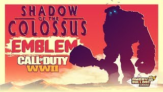 COD-WWll SHADOW OF THE COLOSSUS EMBLEM TUTORIAL │VALUS │1080P