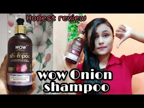 Wow Onion Black Seed Oil Shampoo Review   Wow Shampoo   Onion shampoo with pro-vitamin B5