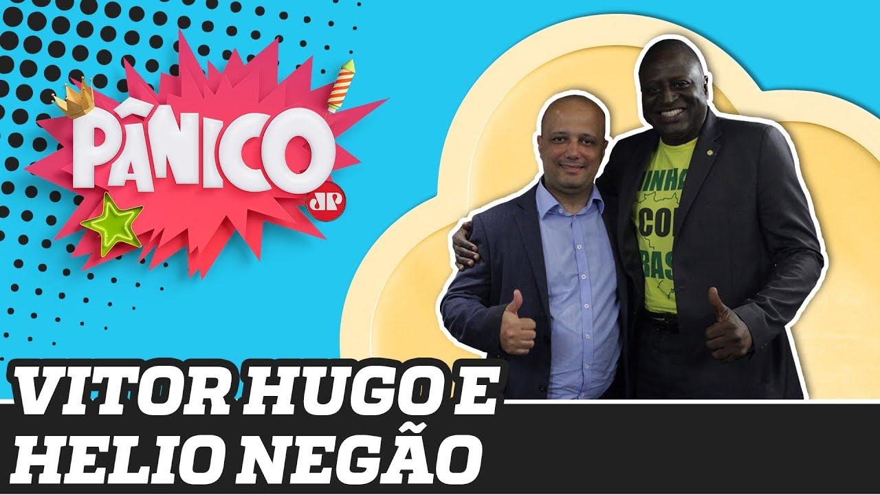 PANICO JOVEM PAN -Helio Negão e Major Vitor Hugo | Pânico - 16/12/19