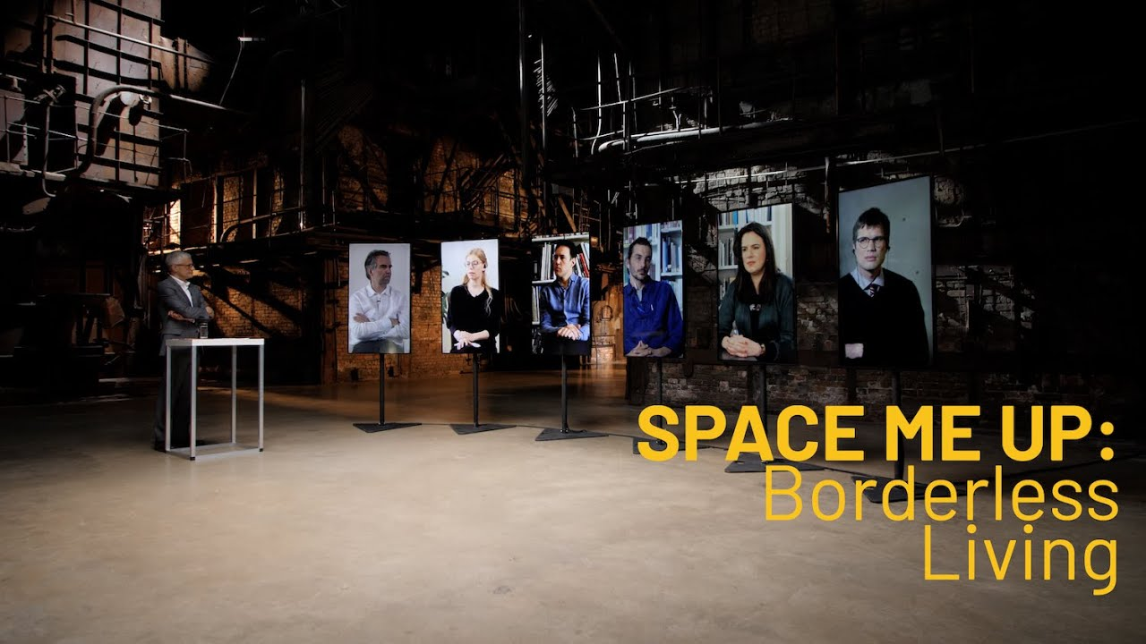 SPACE ME UP: Borderless Living. Joint Broadcast of 6 Pavilions
